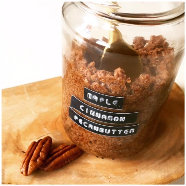 Maple Cinnamon Pecan butter