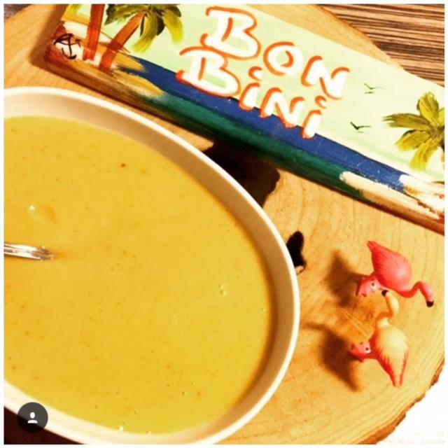 Bakbanaan soep/Plantain soup