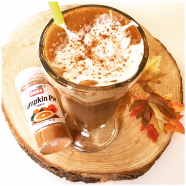 Pumpkin Spice Latte nicecream shake