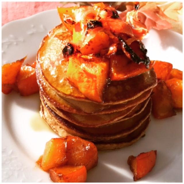 Pumpkin Pie Spice Pumpkin Pancakes