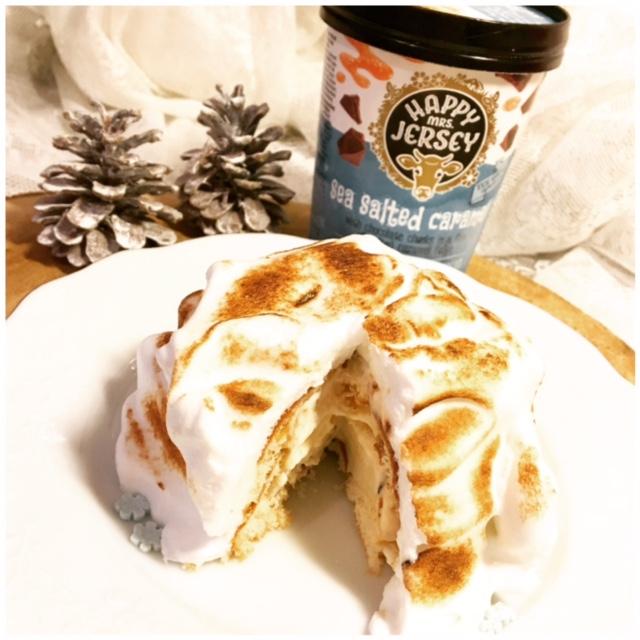 Seasalt Caramel Baked Alaska