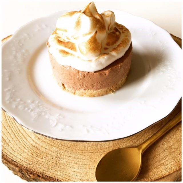 No bake healthier S'Mores cheesecake