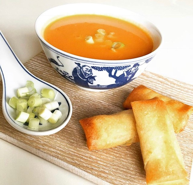 Chinese tomato soup