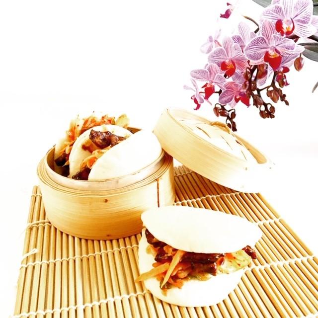 Bao with Honey Hoisin Tempeh