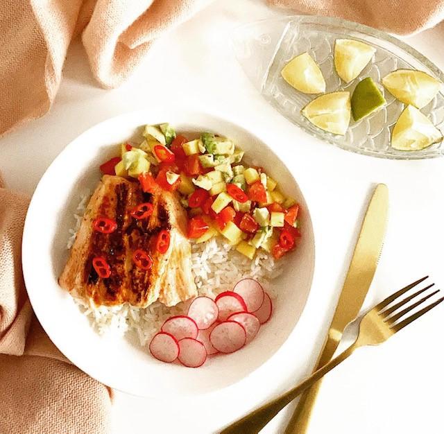 Spicy Honey Chili Lime Salmon