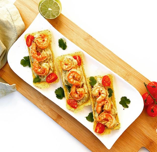 Spicy Shrimp Avocado Boats
